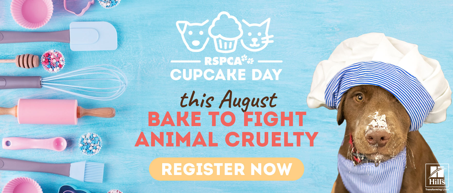 Bake for change - Register for Cupcake Day Now!
