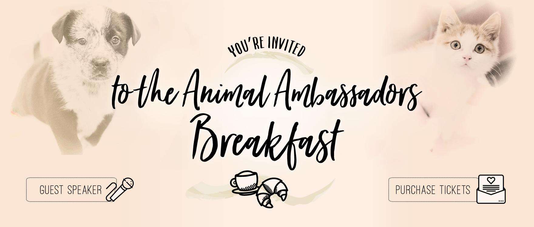 Pet Tales - You're Invited to Breakfast!