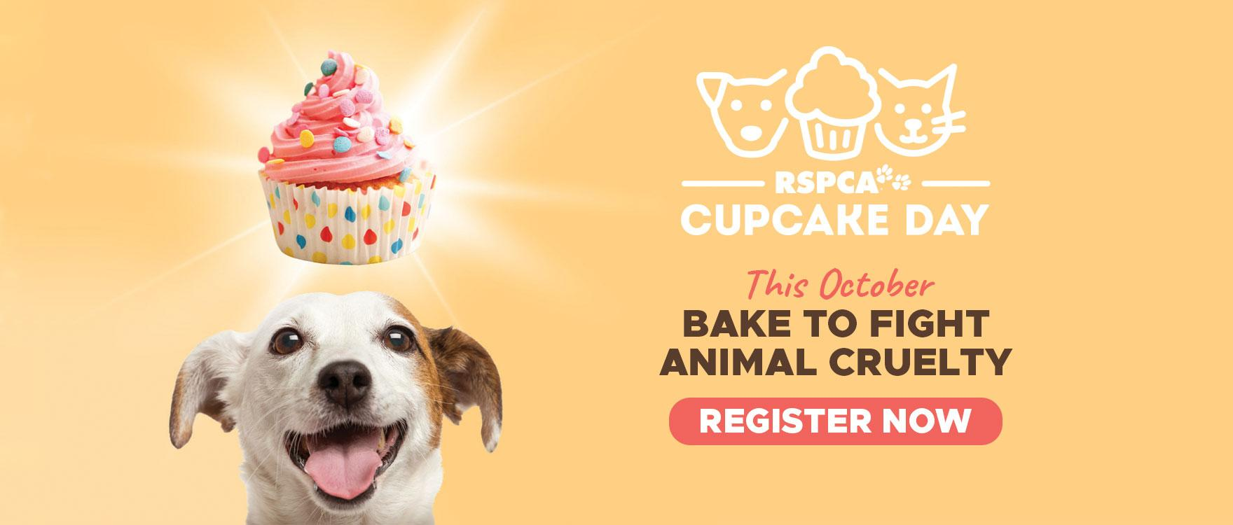 Register to bake a difference this Cupcake Day!